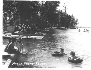 The Story-Bigfork Bay in 1930's